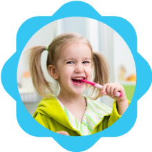 Smilezdoc preventive dental care at Childrens Dentistry of Arlington